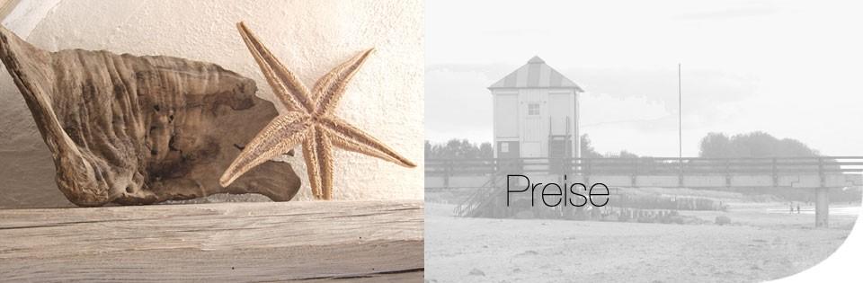 Preise für Ferien an der Ostsee
