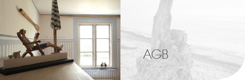 AGB für Ferienwohnung an der Ostsee